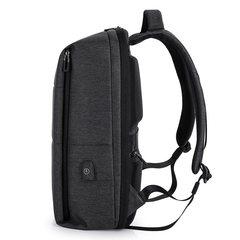 Рюкзак плоский для ноутбука 15,6 Tangcool TC805 тёмно-серый