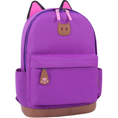 Рюкзак Bagland Ears фиолетовый (0054566)