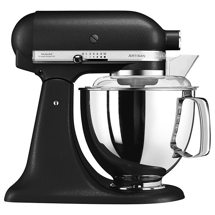 KitchenAid Artisan 4.8L Stand Mixer, Iron Black