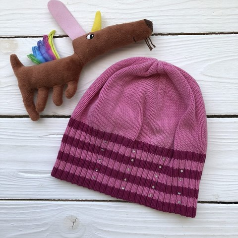 Яркая вязанная шапка Kerry на 6 месяцев
