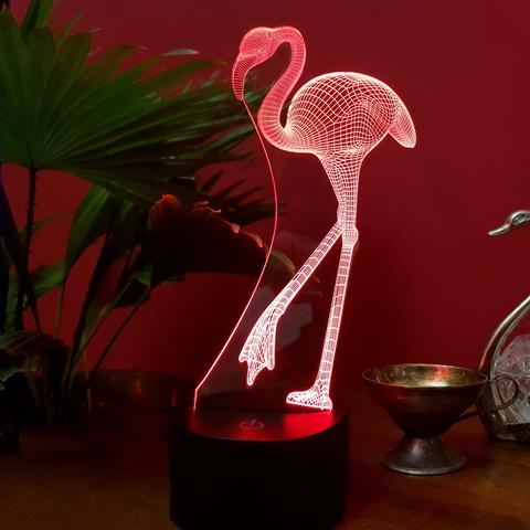 Ночник Фламинго