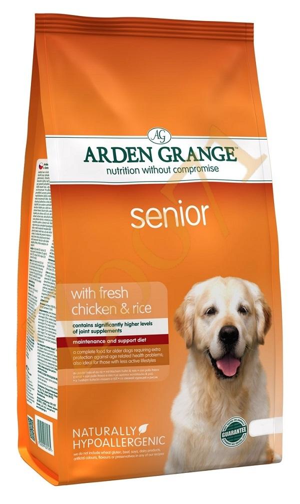 Каталог Сухой корм для собак почтенного возраста, Arden Grange Senior, с курицей и рисом AG607285.jpg