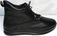 Женские кеды сникерсы Evromoda 375-1019 SA Black
