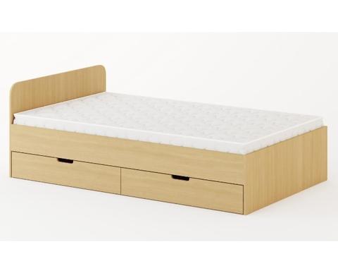 Кровать КР-08 дуб беленый