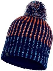 Вязаная шапка с флисовой подкладкой Buff Hat Knitted Polar Iver Medieval Blue