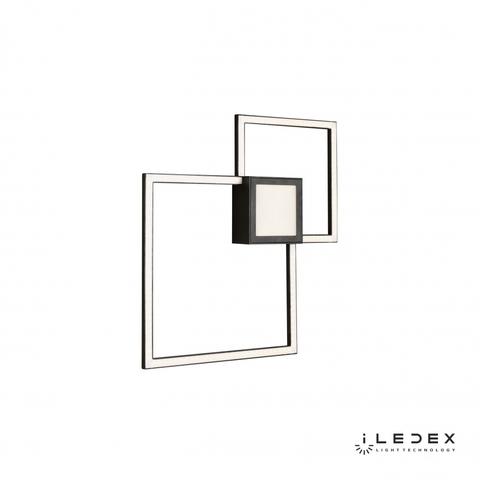 Настенный светильник iLedex Galaxy X046424 24W 3000K BK