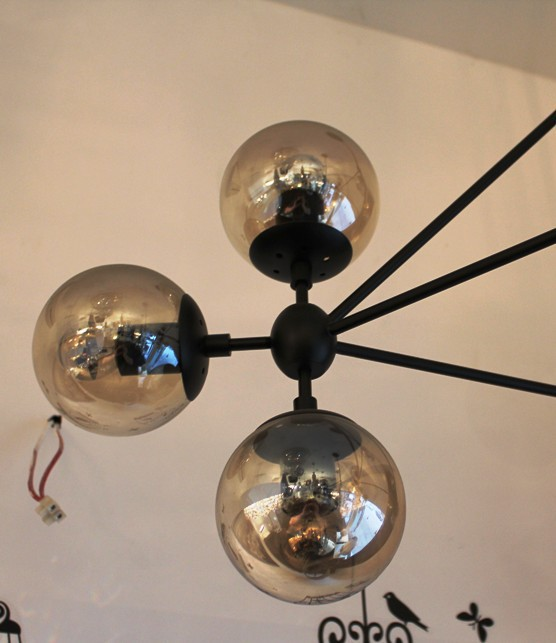 modo chandelier by roll and hill 15 globes. Black Bedroom Furniture Sets. Home Design Ideas