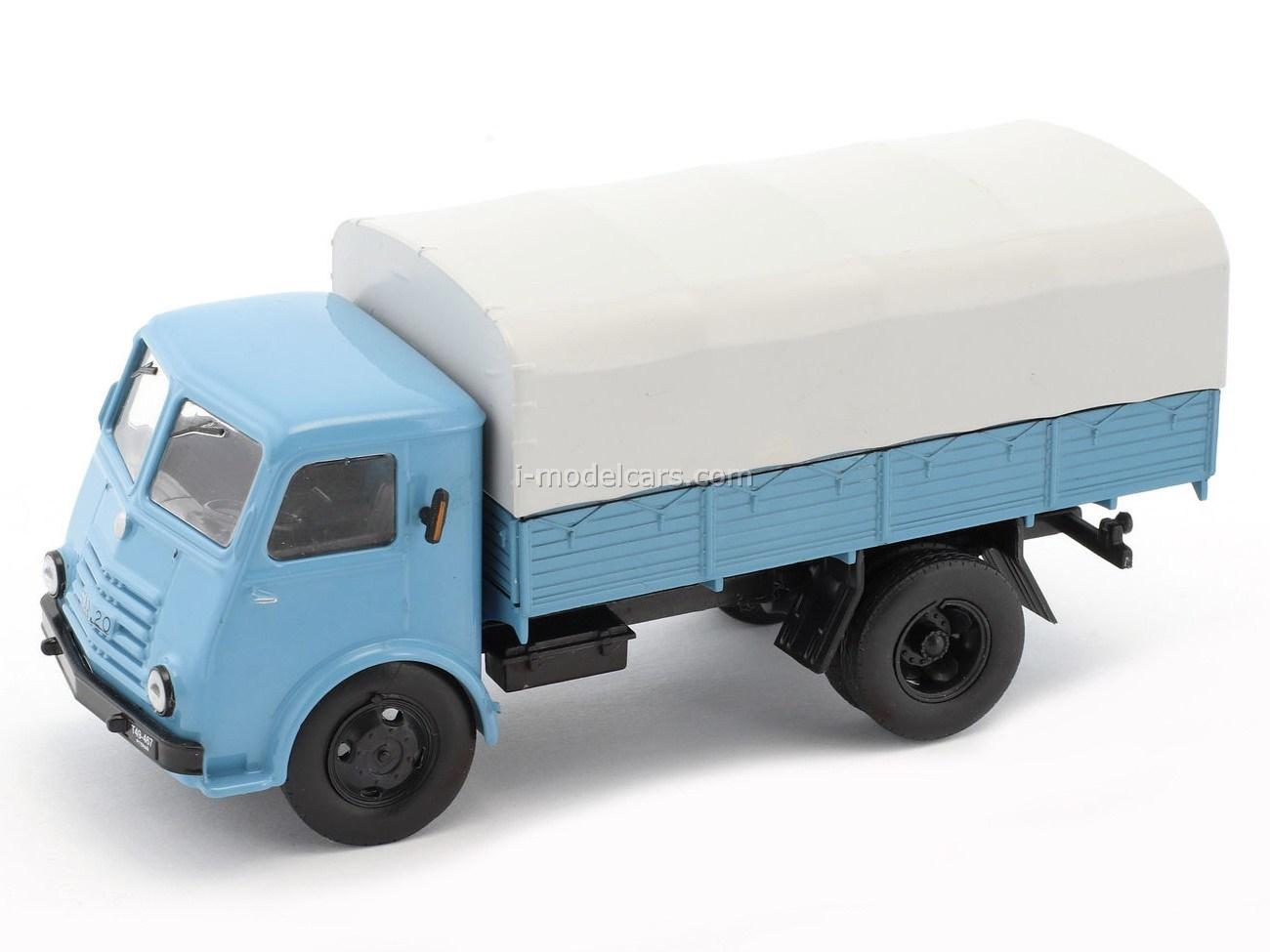 Star 20 Truck light blue-gray 1:43 DeAgostini Kultowe Auta PRL-u