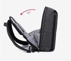 Рюкзак плоский для ноутбука 15,6 КАКА 805 чёрный