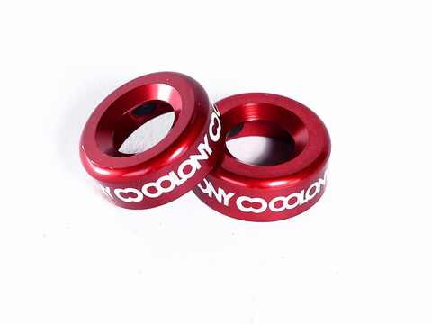 BMX Баренды Colony Konka Bar Ends Dark Red