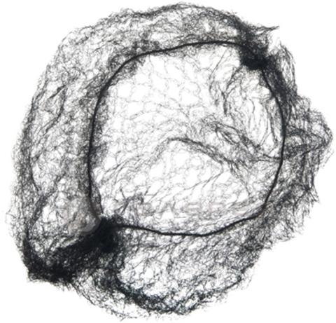 Сеточка Ставвер для волос 3 шт/уп