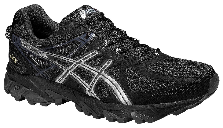 Мужские кроссовки внедорожники Asics Gel-Sonoma G-TX (T5N2N 9093) черные фото