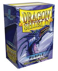 Dragon Shield - Фиолетовые протекторы 100 штук