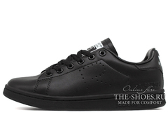 Кроссовки Женские Adidas Originals X Raf Simons Stan Smith Black