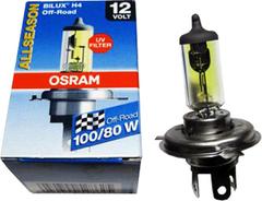 Галогенные лампы Osram H4 All Season + 30% света 64193 ALS ( 2шт.)