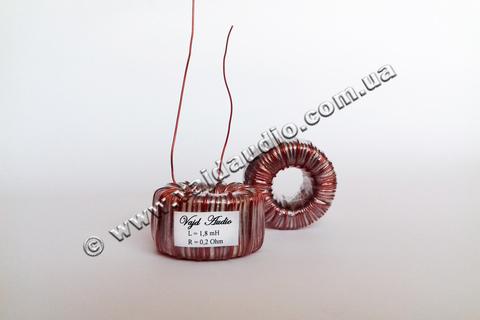 Катушка индуктивности Vajd Audio 1,8 mH* 0,2 Ohm* 0,8 mm