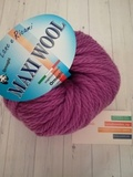 Пряжа Ornaghi Maxi Wool лиловый 23