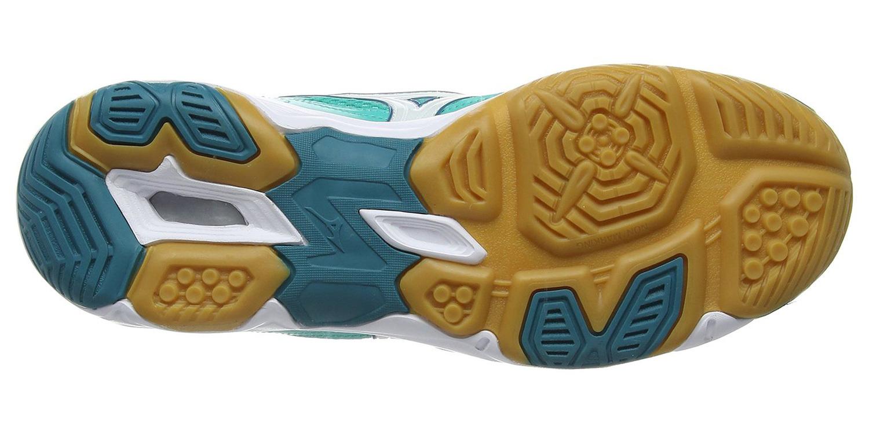 Волейбольные кроссовки Mizuno Wave Twister 4 женские (V1GC1570 02) бирюзовые