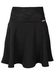 6601 юбка женская, черная