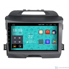Штатная магнитола 4G/LTE Kia Sportage III 10-16 Android 7.1.1 Parafar PF537