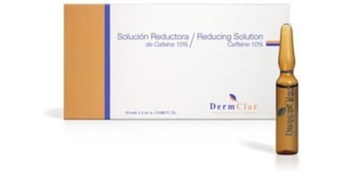 *Мезотерапевтический препарат Кофеин 10% (Dermclar/Reducing solution/2мл/DM-05)