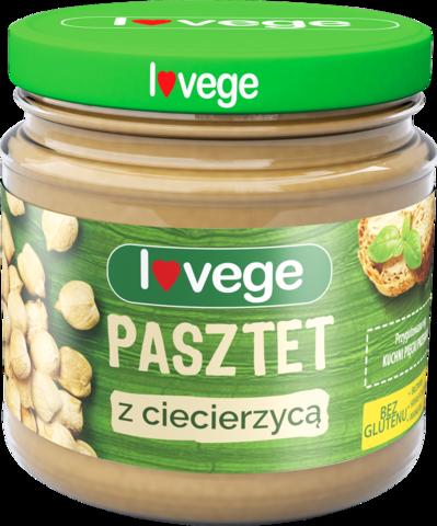 Lovege овощной паштет с нутом 180 г