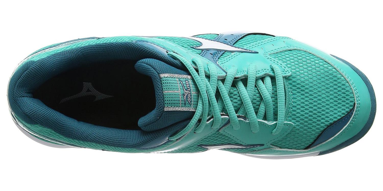 Волейбольные кроссовки Mizuno Wave Twister 4 женские (V1GC1570 02) бирюзовые фото