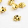 "Шапочка для бусины TierraCast ""Talavera Star"" (цвет-античное золото) 6х5х2 мм"