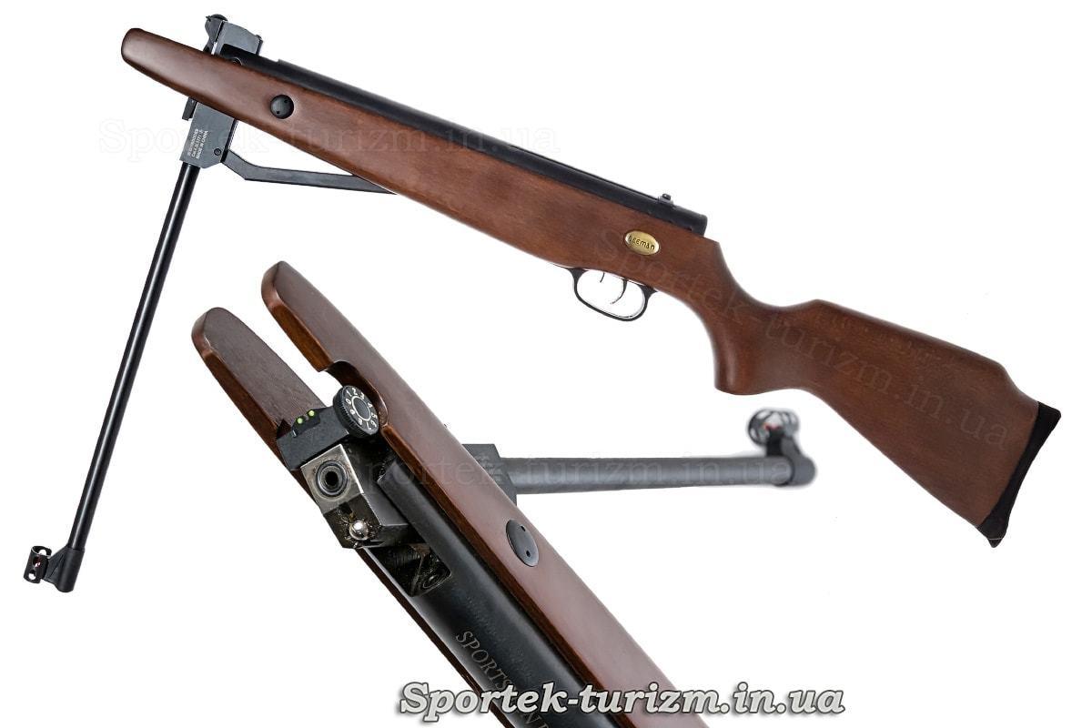 Зарядка пневматической винтовки Beeman RS2