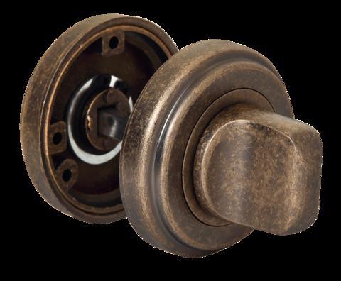 Фурнитура - Завёртка  Morelli MH-WC-CLASSIC OMB, цвет старая античная бронза ЦАМ - (сплав, содержащий цинк, алюминий и медь) + многослойное гальваническое покрытие