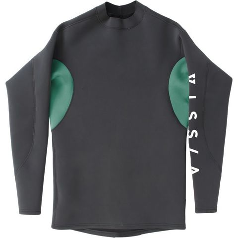Гидромайка мужская VISSLA 1mm Performance Jacket длинный рукав, двусторонняя
