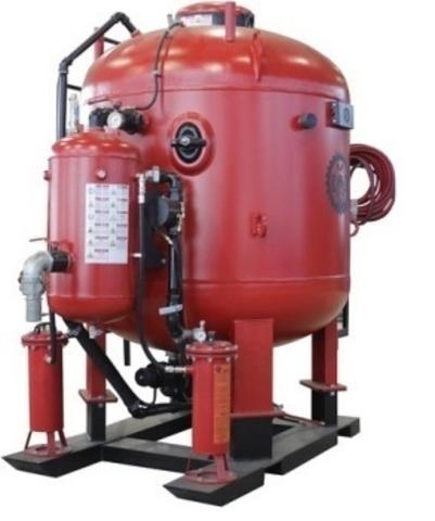 Абразивоструйная установка DSG®-1000 литров двухпостовая