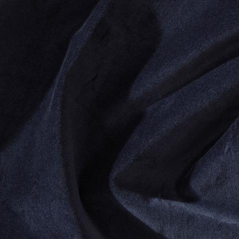 Бархат театральный негорючий темно-синий, ш - 140 см., 330 гр./м2. арт. BTVN/208/000781