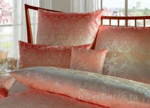 Для сна Наволочки 2шт 50x70 Curt Bauer Sabah розово-коралловые 2040-komplekt-postelnogo-belya-sabah-oranzheviy-curt-bauer.jpg