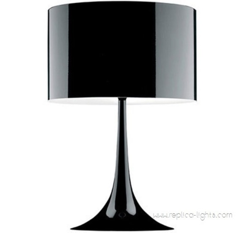 replica   Spun table lamp  T1 (82 см)