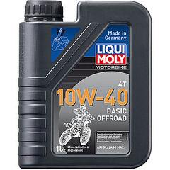 3059 LiquiMoly Мин.мот.масло д/4-т.мотоц. Motorbike 4T Basic Offroad 10W-40 SL;JASO MA2(1л