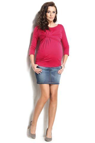 Юбка для беременных 06479 синий