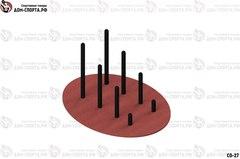 СО-27 Столбики для отжиманий 4 уровня