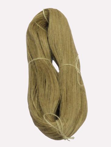 Джут натуральный - соломенный, 400 грамм