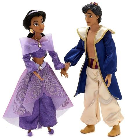 Набор поющих кукол Принцесса Жасмин и Алладин - Aladdin, Disney