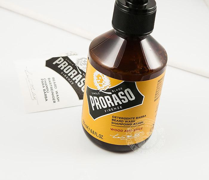 RAZ400750 Шампунь для бороды «Wood and Spice» от итальянского бренда «Proraso» (200 мл) фото 05