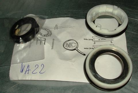 Уплотнители для траверсы напротив шкива (ремклмплект) для стиральных машин БОШ, БРАНД, ГОРЕНЬЕ