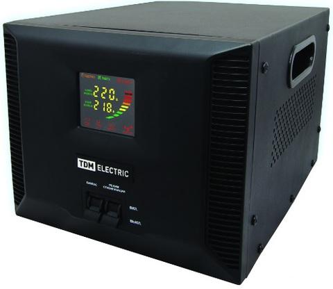 Стабилизатор напряжения СНР1-1-3 кВА электронный переносной TDM