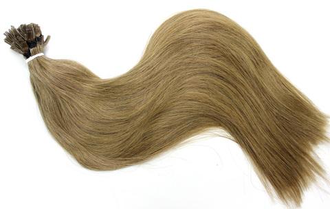 Волосы на плоских кератиновых капсулах,цвет 14( 2 КЛАСС)-50 СМ-79 шт