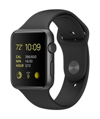 Часы смарт Apple Watch Sport 42мм (цвет черный)