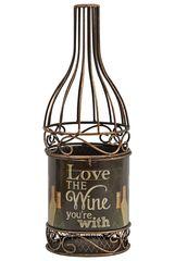 Декоративная емкость для винных пробок Boston Warehouse Love The Wine