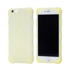 Чехол силиконовый 8thDays Pet Town Series для Apple iPhone 6/6S 4,7 yellow