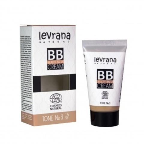 BB крем тон №3, 30мл (Levrana)
