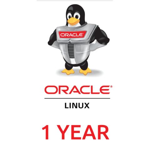 Сертификат на техническую поддержку Oracle Linux Basic (1 Year Support)