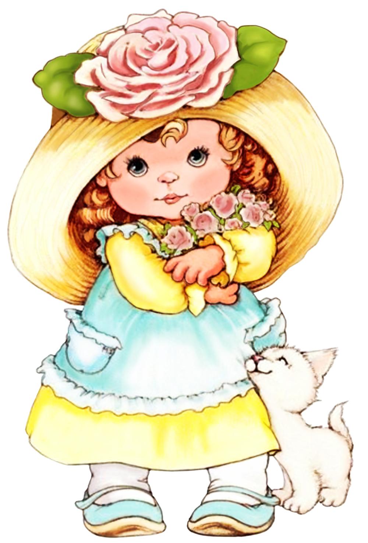 Папертоль Девочка с розами — главное фото сюжета.